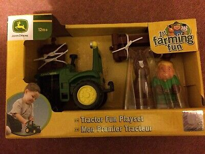John Deere Tractor Fun Playset. 1st Farming Fun Age 12m+