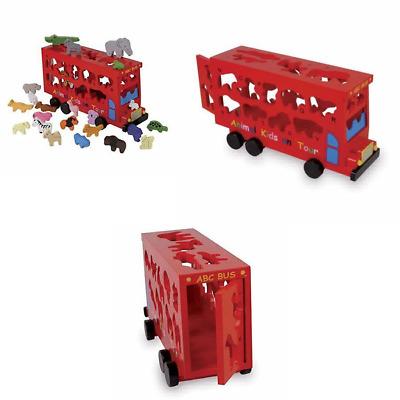 Legler ABC Bus Preschool Learning Toys