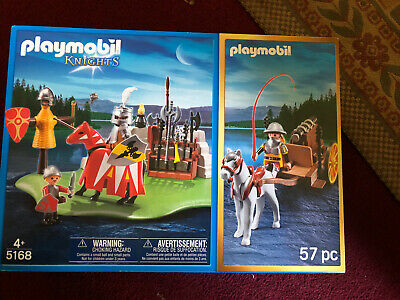 PLAYMOBIL  Knights Medieval Joust Tournament Playset