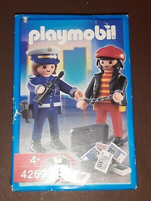 PLAYMOBIL set  POLICE OFFICER & THIEF New, unopened (box