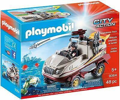 Playmobil  City Action Amphibious Truck - Motor, Cannon