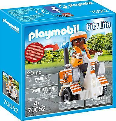 Playmobil  City Life Rescue Balance Racer