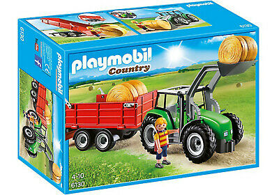 Playmobil  Country Large Tractor with Trailer Farm