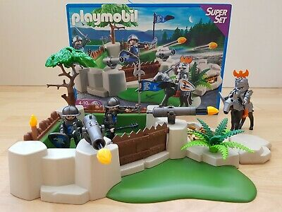 Playmobil  Falcon Knights Fort Super Set, complete with