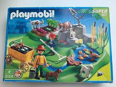 Playmobil  Farmyard (In Original Box and Almost