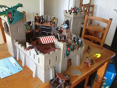 Playmobil falcon castle  (& knights, dragons +