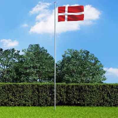 vidaXL Denmark Flag Durable Garden Windsock With Brass