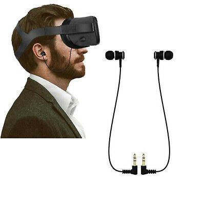 For Oculus Quest VR Headset Stereo Earbuds In-ear Earphones