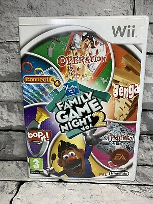 Hasbro Family Game Night: Volume 2 WII Game complete with