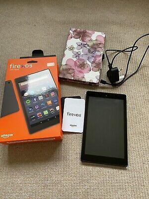 Amazon Fire HD 8 (8th Generation) 32GB, Wi-Fi, 8 in - Black