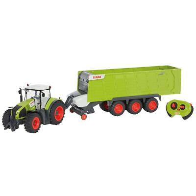 CLAAS RC Toy Tractor with Trailer Children Play Construction