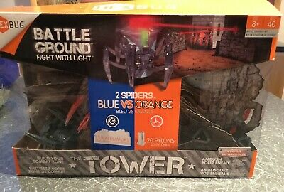 Hexbug Battle Ground Tower Set - WITH TWO EXTRA BUGS!