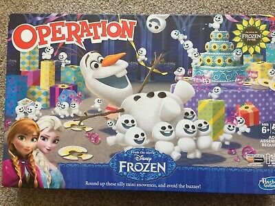 Disney Frozen Olaf Operation Game.Used but in good condition