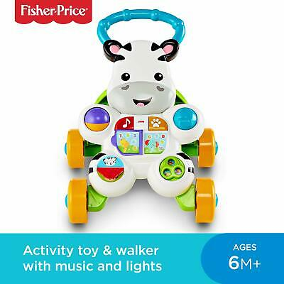 Fisher-Price DLF00 Learn with Me Zebra Walker, Baby or
