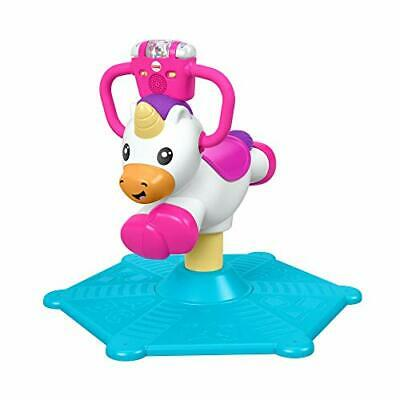Fisher-Price GHY50 Bounce and Spin Unicorn, Stationary