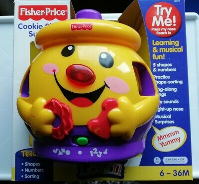 Fisher-Price H Cookie Shape Surprise, Laugh and Learn