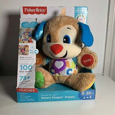 Fisher Price Smart Stages Puppy 100 First Words 75 Sounds
