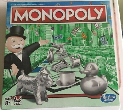 Hasbro Monopoly with New Token Line-Up Board Game