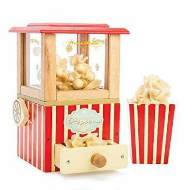 Le Toy Van - Wooden Honeybake Retro Popcorn Machine Role