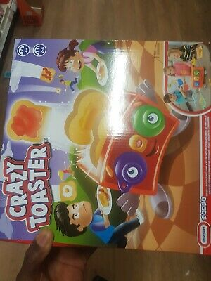 Little Tikes CRAZY TOASTER Catch and Match Toast Game Kids