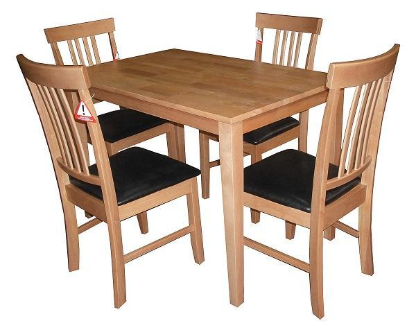 Massa Small Wooden Table and Chairs