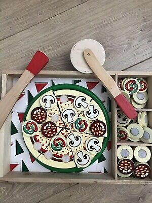 Melissa & Doug Wooden Pizza Toy