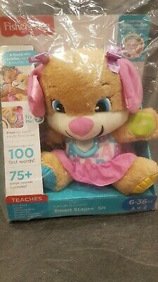 New Fisher-Price FPP51 Laugh and Learn Smart Stages First