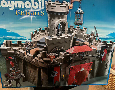 PLAYMOBIL  Hawk Knights' Castle with Dungeon and Many