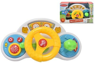 Play and Learn Driver Baby Steering Wheel with Lights Sounds