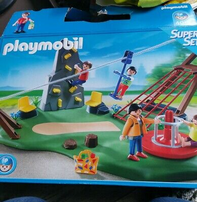 Playmobil  Activity Playground complete set used with
