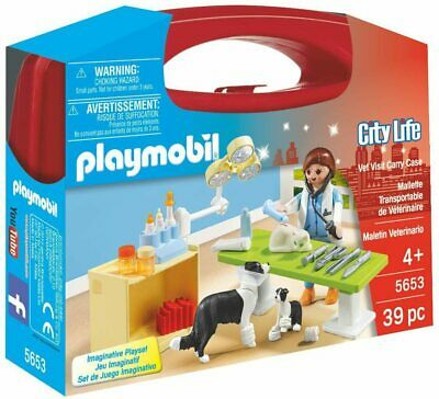 Playmobil  City Life Collectable Small Vet Carry Case