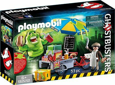 Playmobil  Ghostbusters? Hot Dog Stand with Slimer