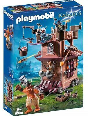 Playmobil Mobile Dwarf Fortress with Shot Ballista