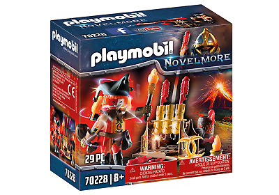 Playmobil  Novelmore Knights Burnham Raiders Fire