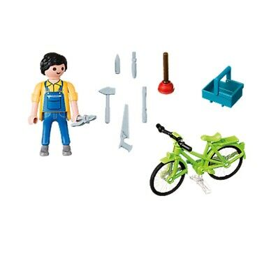 Playmobil  Special Plus Handyman with Bike Complete