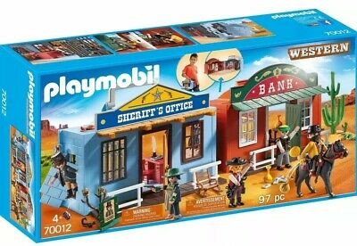 Playmobil  Take Along Western City, Cowboy,