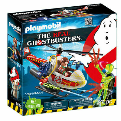 Playmobil The Real Ghostbusters Venkman with Helicopter