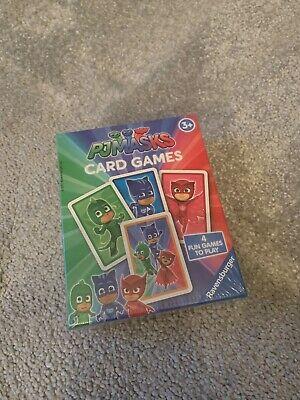 Ravensburger PJ Masks Card Game (Snap, Happy Families, Swap