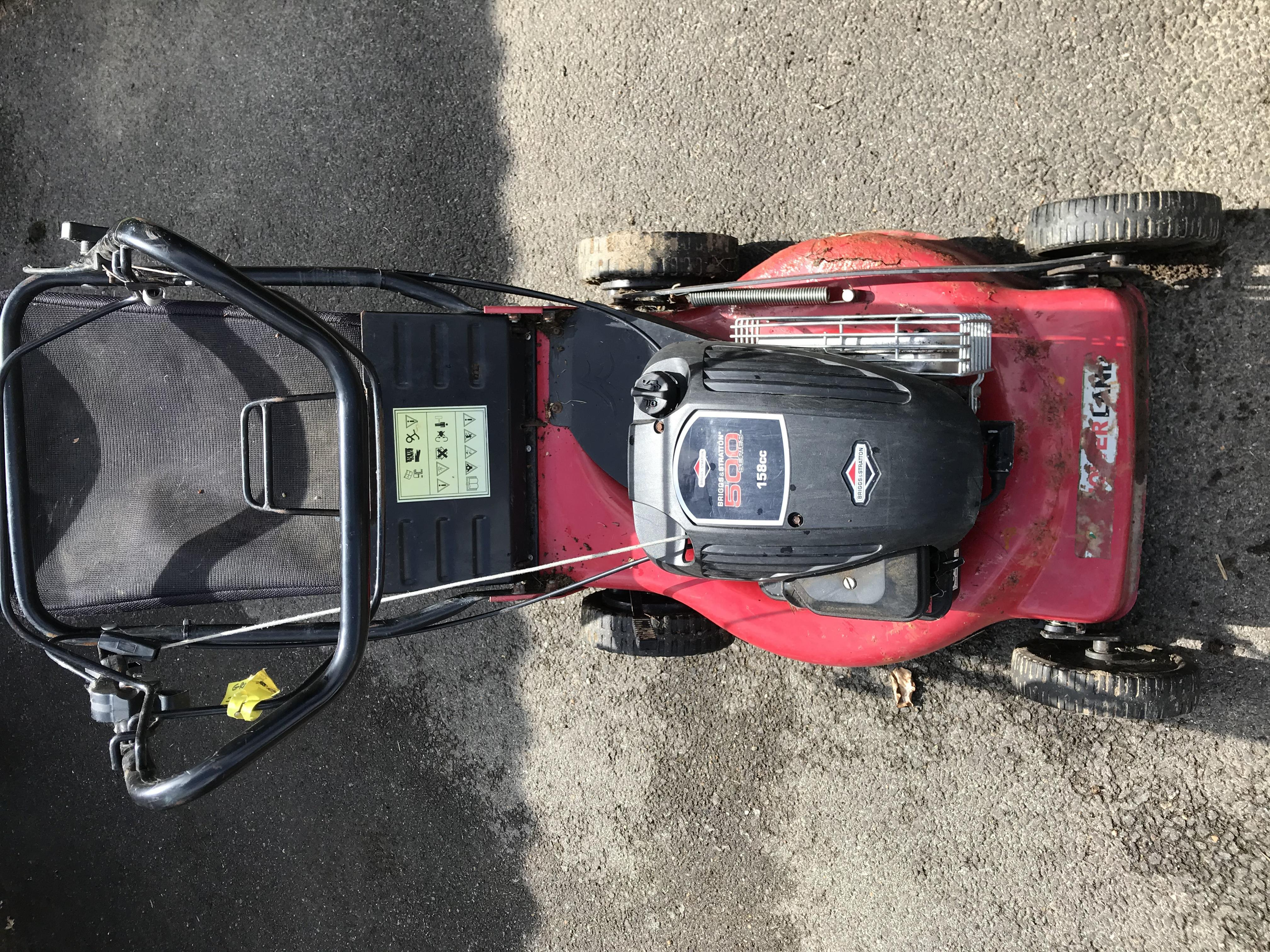 Self-Propelled Petrol Lawnmower 4-Stroke 158CC