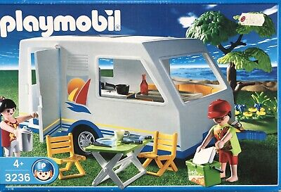playmobil  Car AND Caravan Bundle