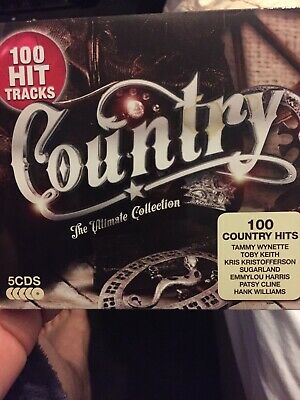 Country: The Ultimate Collection [New & Sealed] 5 CD Pack