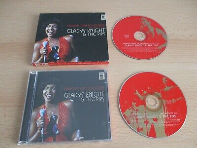 GLADYS KNIGHT & THE PIPS,2 X CD,THE BEST OF MIDNIGHT,MCDLX