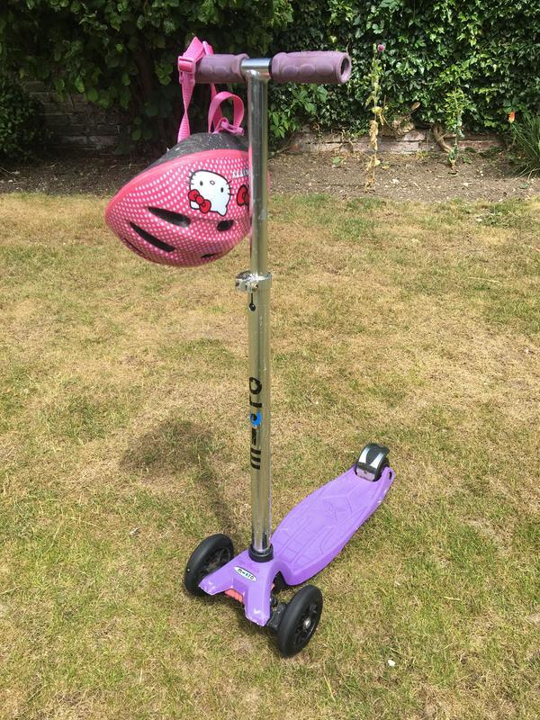 Micro Scooter For Sale including Hello Kitty Helmet