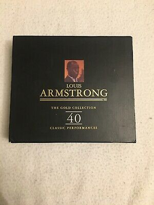 louis Armstrong The Gold Collection CD 40 Classic