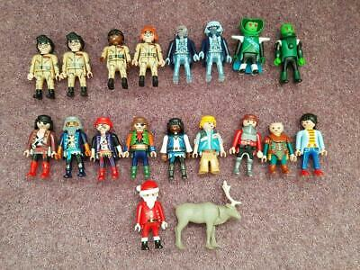 18 Playmobil Bundle of Figures Ghost Busters Pirates Knights