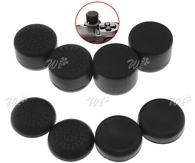 8Pcs SILICONE THUMB STICK GRIP COVER For SONY PS4 XBOX ONE