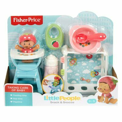 Fisher Price - Little People Snack & Snooze With Baby -