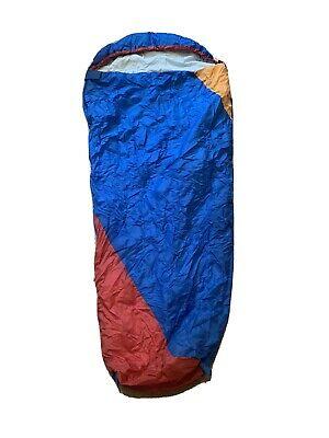 High point 3 Season Sleeping Bag for Kids - Blue/Red.