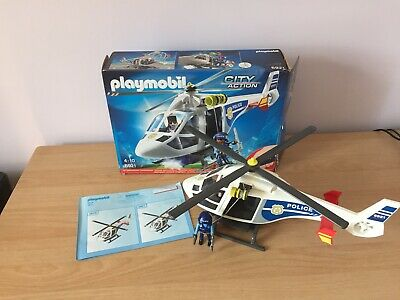 PLAYMOBIL  City Action Police Helicopter With LED