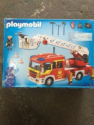Playmobil  City Action Ladder Unit with Lights and Sound